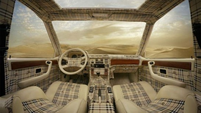 Dress up your cars with Louis Vuitton & Burberry interiors