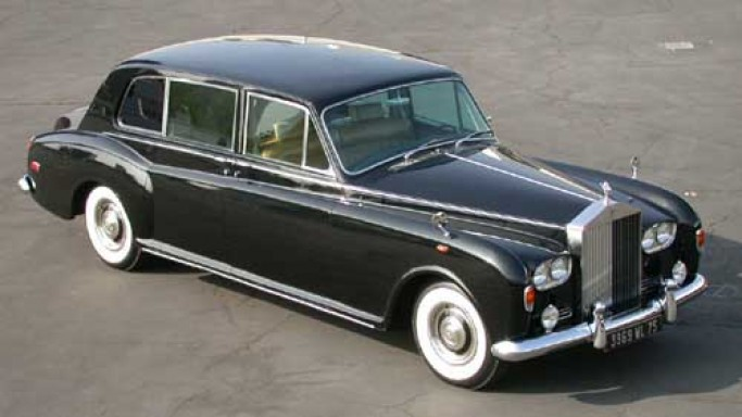 1973 Rolls-Royce Phantom VI car - Color: Black  // Description: versatile