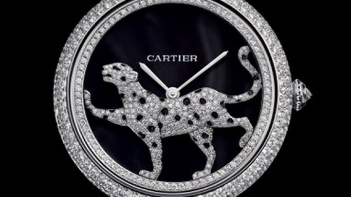 Cartier Masse Secrete Panthere Decor automatic ladies watch every woman will desire