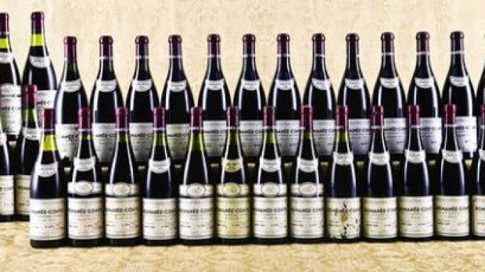Most expensive wine lot sold for $800,000 at Hong Kong auction
