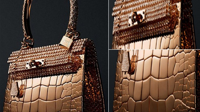 Hermes Unveils $1.9 Million Birkin Handbags Crafted from Gold and Diamonds