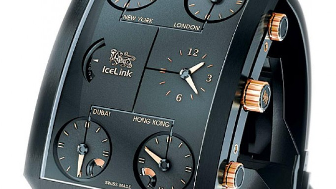 IceLink Zermatt GMT watch unveiled during Baselworld 2012