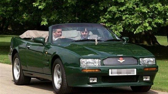Prince Charles' Aston Martin Volante goes up on Bonhams