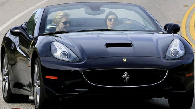 Ellen DeGeneres loves fast cars, as a result of which she bought a Ferrari California