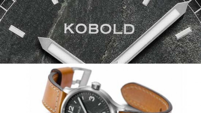 Kobold's Himalaya Everest Edition Watch has a piece of Mt. Everest summit rock