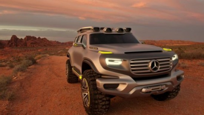 Mercedes-Benz gives a sneak peek into the future with Ener-G-Force concept SUV