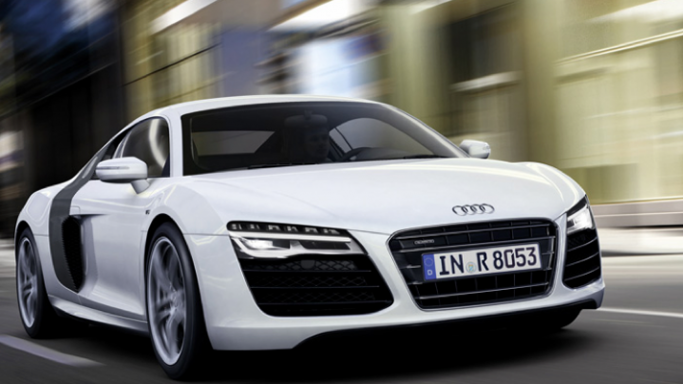 Salman Khan drives Audi R8