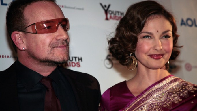 Ashley and Bono attends the YouthAids event