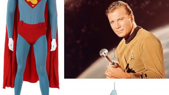 William Shatner's Star Trek Rifle top lot at Julien's Hollywood memorabilia Auction