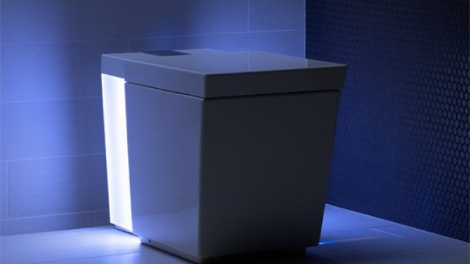Kohler's Numi Comfort Height toilet gets enhanced with a Bluetooth, ambient lighting and more