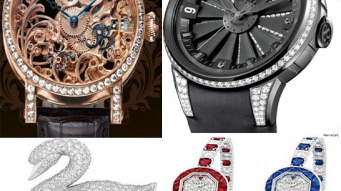 Ladies luxury watches at Baselworld 2011