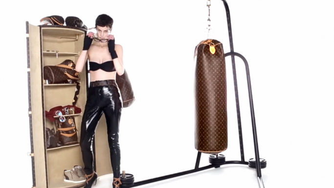 Fab Punches: The LV Luxury Punching Bag