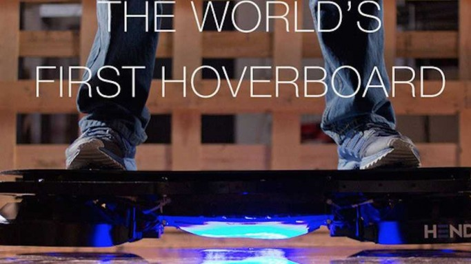 The Impossible Is Possible – A Real Hoverboard Now Available For Pre-Order For $10,000