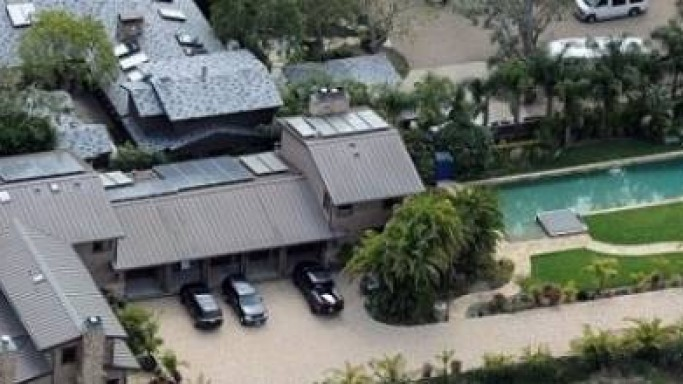 Nicki Minaj mansion in Malibu, California