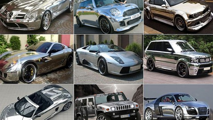 Chrome cars – The car customization trend with the super rich
