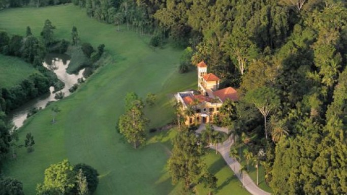 Luxury mansion in Possum Creek, Australia originally built by actor Paul Hogan is up for grabs
