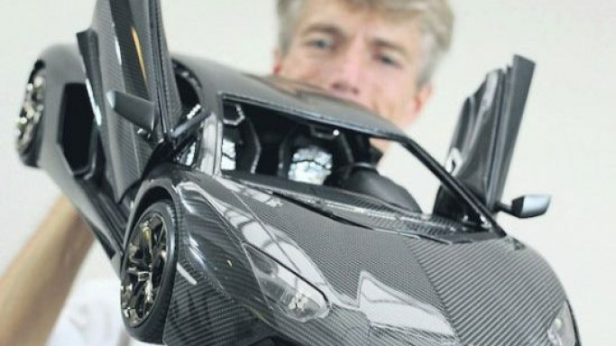 World's most expensive car is a miniature Lamborghini Aventador at $4.7 million