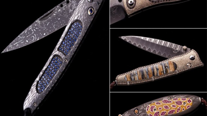 William Henry's bejeweled creations for the quintessential man