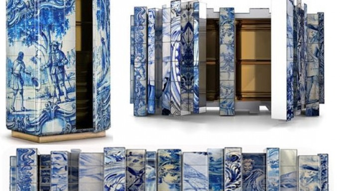 Boca do Lobo debuts limited edition Heritage Sideboard boasts gold leaf interior
