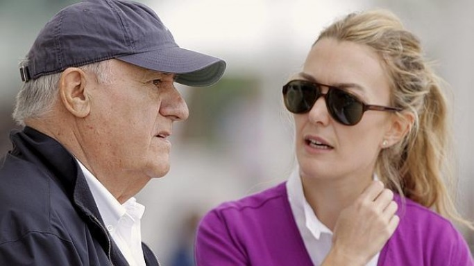 Amancio Ortega with cool, beautiful, amusing, Wife Flora Pérez