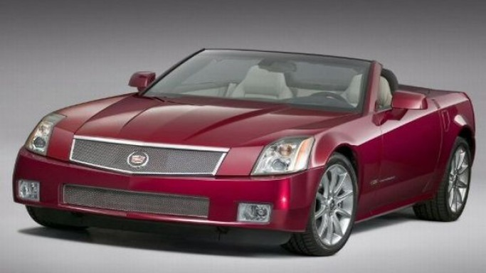 Cadillac XLR car - Color: Red  // Description: exclusive