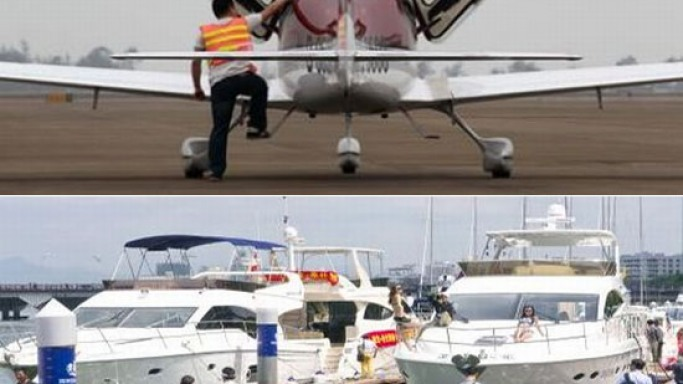 Chinese billionaires show growing appetite for private jets & yachts
