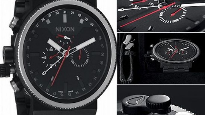 Nixon Trader watch is bombproof but not waterproof