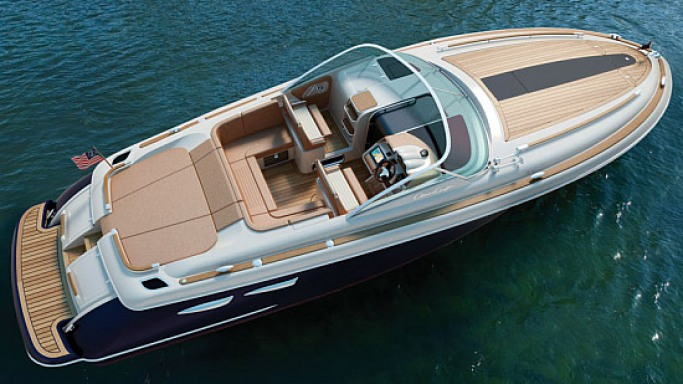 Chris Craft's Corsair 36 European Edition is all about modern craftsmanship