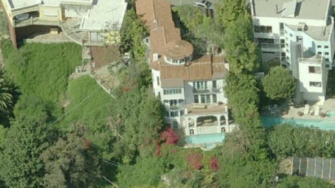 Gerard Butler house in Los Angeles