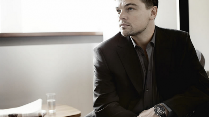 Leonardo like to wear Tag Heuer wrist watches