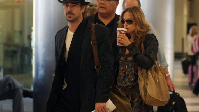 Colin Farrell on vacation in Mexico