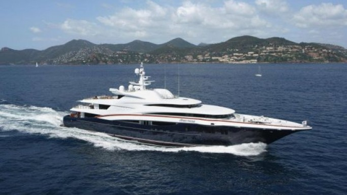The Iconic Anastasia superyacht is for sale with Edmiston