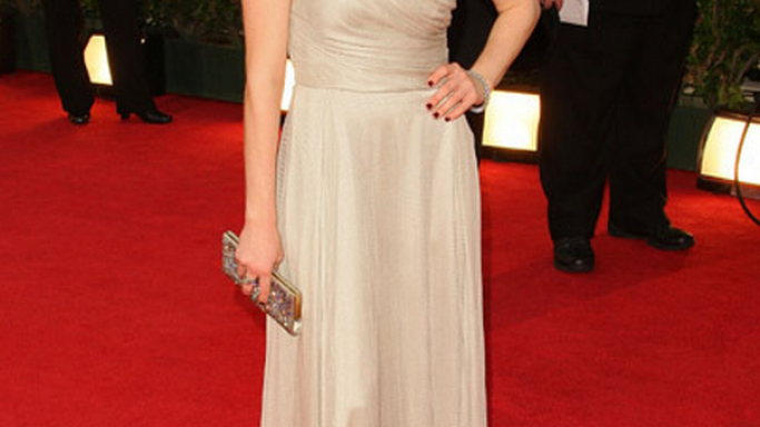 Amanda Seyfried likes to wear her Stella McCartney Silk Asymmetric Gown at Hollywood events