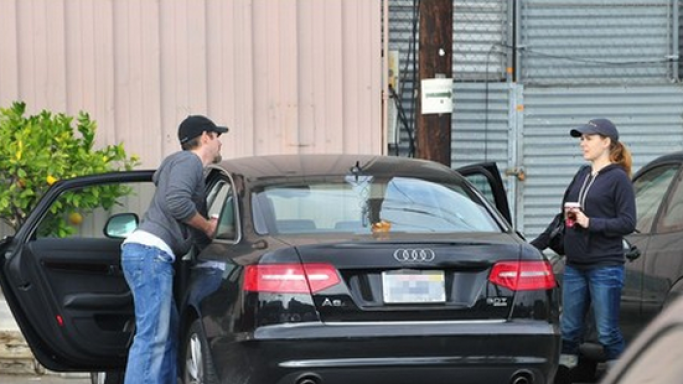 Amy frequently embarks on long drives in her black Audi A6.