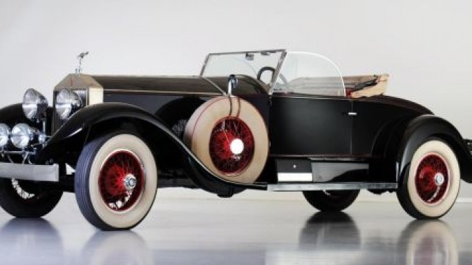 Jerry J. Moore's 1928 Rolls-Royce 'Playboy Roadster' set for auction