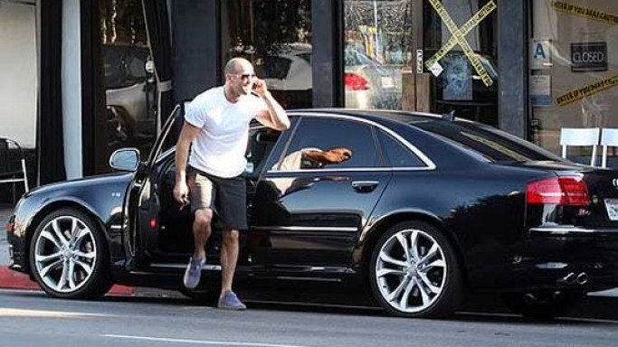Jason Statham drives Audi S8