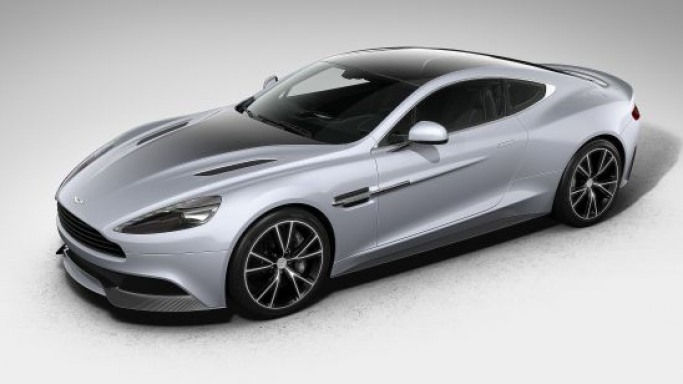 Aston Martin's bespoke Centenary Edition Vanquish represents celebration of the automaker's 100-year history