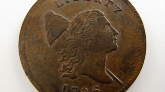 Undiscovered for 50 years: Rare 1796 U.S. Liberty Cap Half-Cent coin sells for over $350,000