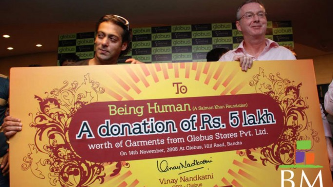 Salman Khan runs Being Human NGO