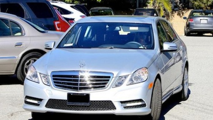 Reese drives Mercedes Benz E-Class