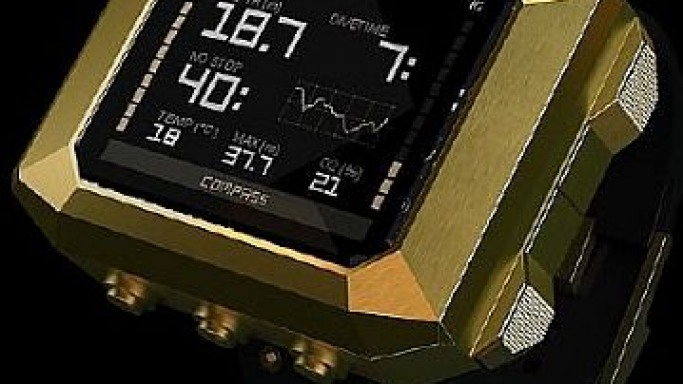 The World's First Luxury Dive Computer