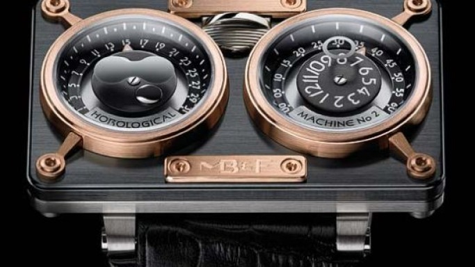 MB&F Horological Machine No. 2 dipped in ceramic