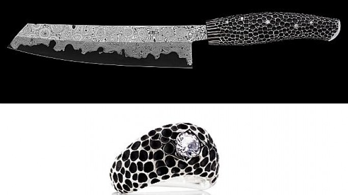 Most expensive diamond-studded kitchen knife is a masterpiece