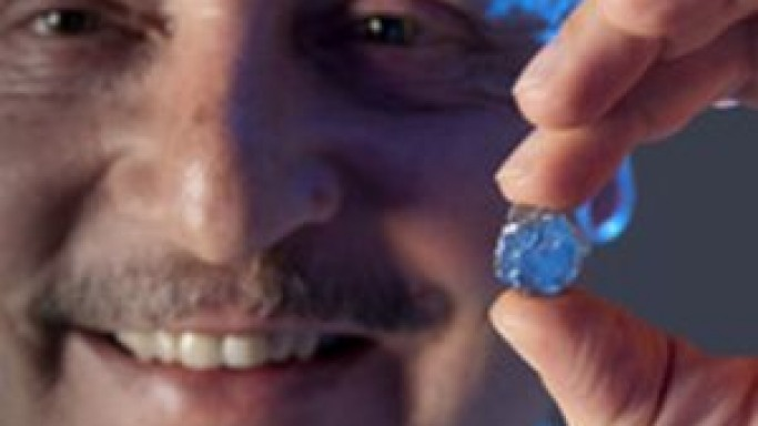 Rare blue diamond could fetch up to $8.5 million at Sotheby's