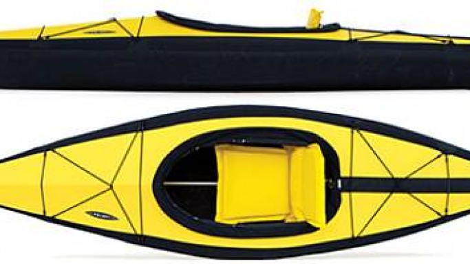 Folbot's folding kayak for the urban traveler is ultra-convenient