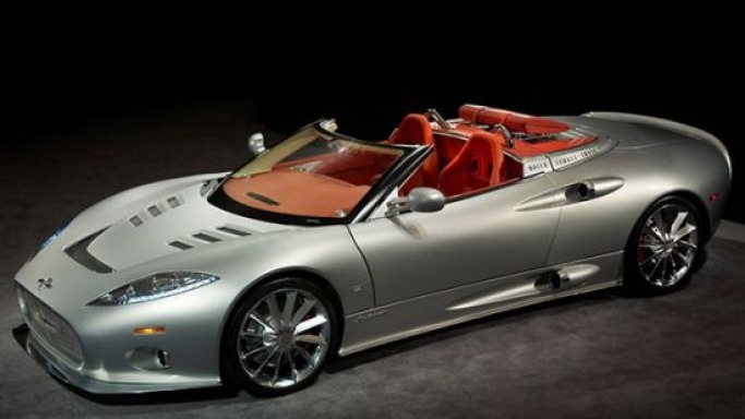Spyker is new on the list of supercars