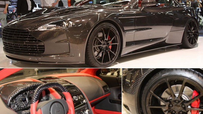 Mansory's next is a carbon fiber Aston Martin DBS