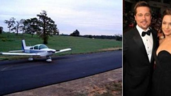 Brangelina to build private airstrip in France