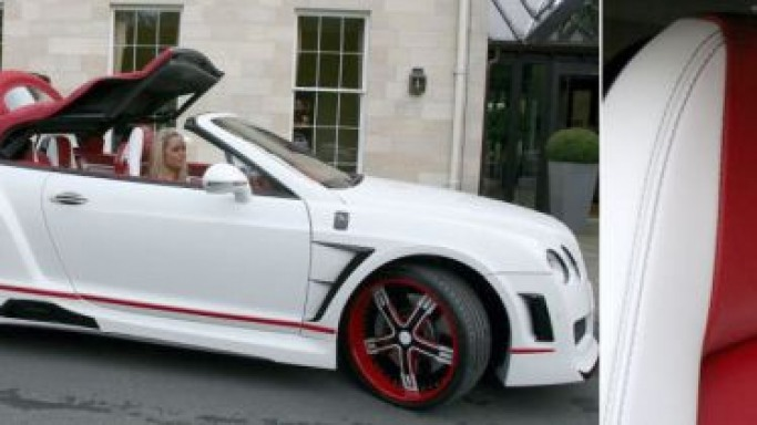 Manchester City footballer gifts his girlfriend a £264K pimped-up Bentley