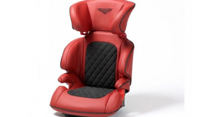 Pass the Bentley passion to your bloodline with child seats